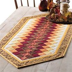 Love this!! Would love to do Thanksgiving on one side and Christmas on the other....quilt as you go.
