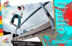 Found! Skatepark Poster #2