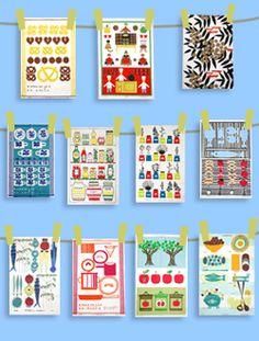 Almedahls Textile Patterns, Textile Design, Textiles, Scandinavian Pattern, Folk Art, Holiday Decor, Home Decor, Decoration Home, Popular Art