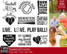 Baseball svg / svg for Cricut / svg for Silhouette / Baseball  / Baseball mom / Baseball dad / Commercial Use Allowed