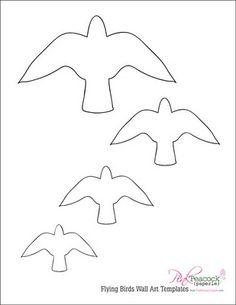 Bird Templates Printable Under Bergdorfbib Co