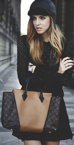 Paris Fashionweek Wearing Louis Vuitton by The Blonde Salad
