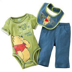 Disney Winnie the Pooh Bodysuit Set - Baby