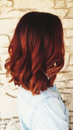 This this this (color) for fall! Copper hair   PINTEREST: @ Eviemercs INSTAGRAM: @ Eviemercs