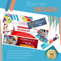 👁️ Graphic Design and Printing Company Get Unique custom website banner design at an affordable cost Visit this and Proceed the Order https://www.kooldesignmaker.com/static-banner-design