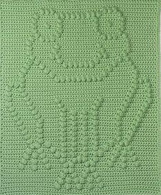 Frog Baby Blanket Pattern Crochet Pattern Crochet Baby