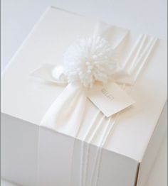 Elegant+Christmas+Gift+Wrapping | Images via: Wendi @ Classic Chic Home on Pinterest