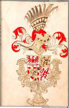 Bruderschaftsbuch des jülich-bergischen Hubertusordens Niederrhein, um 1500 Cod.icon. 318  Folio 16r