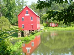 Old Mill In Senoia, Ga  Was the glass house in Sweet Home Alabama :) Next to our high school