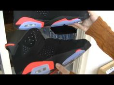 286b296dcbd74d Air Jordan VI 6 Black Infrared 3M Reflective updated Review solephase.net
