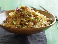 Get Asian Style Slaw Recipe from Food Network