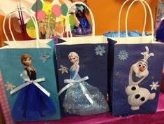Disney Frozen Goodie Bags on Etsy, $18.00