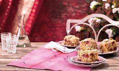 Kirschkuchen mit Honig-Mandel-Streuseln Rezept | Dr. Oetker