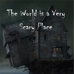 Scary Places, I Gen, Very Scary, A Series Of Unfortunate Events, Netflix Series, Book Series, World, Spooky Places, The World