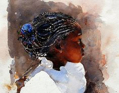 Stephen Scott Young #art #watercolor #painting #pixelle