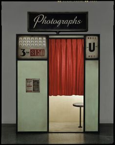Photo Booth, Constructed and Photographed in Austin, September, 2003  Dan Winters   2003