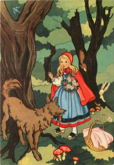 red riding hood vintage - Bing Afbeeldingen