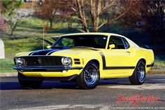 Built To Win Factory Special Muscle Cars Barrett Jackson Las Vegas - Barrett-Jackson Auction Company - World's Greatest Collector Car Auctions America Muscle, Car Head, Car Man Cave, Ford Mustang Boss, Barrett Jackson Auction, Collector Cars, American Muscle Cars, Fast Cars, Classic Cars