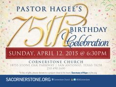If you can't join us in Texas, go online to www.getv.org to watch the celebration!