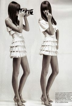 Mini white dress- Sexy