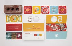 Some awesome work by Allan Peters and his team at the Target inHouse design studio for their 50th Anniversary Party. Get a closer look right here.