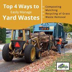Top 4 Ways to Easily Manage Yard Wastes  Your yard might be a good place to take a walk and chill out, but it can also be a place that easily collects waste such as fallen trees, grass clippings and raked leaves.  Read more: http://www.junkhappens.com/4-ways-to-easily-manage-yard-wastes/   #TrashRemoval #Minneapolis #JunkRemoval #Minnesota #WasteRemoval