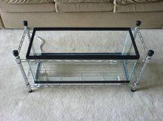 DIY fishtank coffee table. Summer. Project. :]