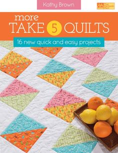 DIY Book - More Take 5 Quilts.