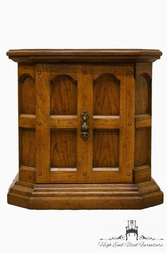 Drexel Bishopgate Collection Parquet Top Storage End Table Long Driveways, End Tables With Storage, Side Chairs, China Cabinet, Antiques, Interior, Top, Furniture, Collection