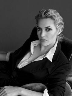 pinterest.com/fra411 #beauty - Kate Winslet by Tom Munro