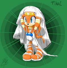 Tikal the Echidna Tikal, Sonic The Hedgehog, Waifu Material, Echidna, Disney Characters, Fictional Characters, Video Games, Fandoms, Fan Art