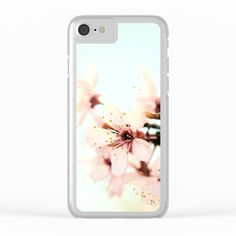 Blossoms Clear iPhone Case by ARTbyJWP from Society6 #phonecases #iphonecase #clearcases #blossom #spring ---   Shop clear iPhone cases featuring brilliant patterns and designs on frosted, transparent shells - created by the world's best independent artists.