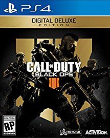 Call Of Duty Black Ops 4 Digital Deluxe Ps4 Digital Code Black Ops Black Ops 4 Call Of Duty