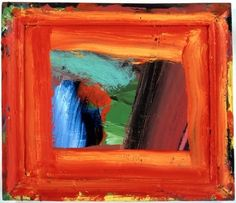 """The title ' Learning about Russian Music"""" Abstract colour on wood - makes me wish I were there in the room when painted. Howard Hodgkin oil on wood 1999 Inspirational Artwork, Kunst Online, Online Art, Howard Hodgkin, National Portrait Gallery, Sculpture, Art History, Abstract Art, Abstract Paintings"""