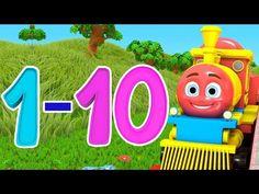 nummersång | rim för barn | lära sig siffror | Number Song | Little Treehouse Svenska Barnsånger - YouTube Youtube, Youtubers, Youtube Movies