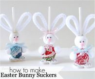 69 simply adorable easter craft ideas easter art easter crafts you kids will love these cutest easter bunny suckers and enjoy making them these lovely bunny suckers are great homemade gifts for easter negle Images