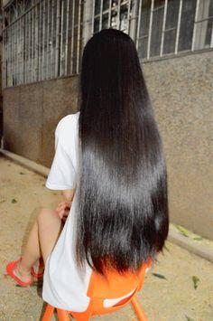 Indian Long Hair Braid, Braids For Long Hair, Long Black Hair, Very Long Hair, Nose Makeup, Hair Meaning, Gorgeous Hair, Beautiful, Hair Goals
