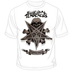 Suicidal Tendencies (Possessed) T-Shirt $14.90 #punk #rock #music #clothing #shirts www.drstrange.com