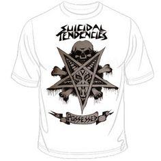 Suicidal Tendencies (Possessed) T-Shirt $14.90 #punk #rock #music #clothing #shirts www.drstrange.com