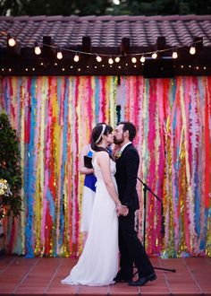 10 DIY wedding backdrops  - wedding blog - Girly Wedding