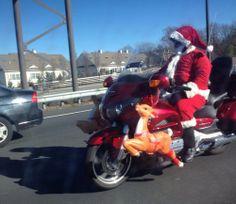 Santas cool sleigh