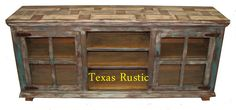 Texas Rustic tv stand collection...so want this