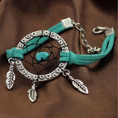 2015 Handmade Dream Catcher Bracelet Alloy Feather Pendant Calaite Stone for sale online Unique Bracelets, Fashion Bracelets, Charm Bracelets, Dream Catchers For Sale, Dream Catcher Bracelet, Presents For Women, Birthday Gifts For Women, Indian Jewelry, Jewelry Accessories