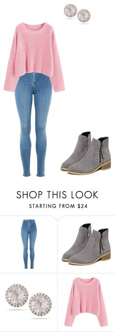 """""""Sans titre #1118"""" by stalialightwood ❤ liked on Polyvore featuring Topshop and Dana Rebecca Designs"""