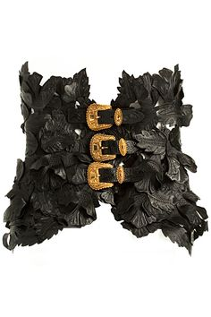 ~Alexander McQueen Belt - Women's Accessories 2011 Spring-Summer | The House of Beccaria# | Cynthia Reccord