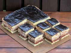 Kliknij i przeczytaj ten artykuł! Sweet Cakes, Homemade Cakes, Chocolate, Bon Appetit, Waffles, Cheesecake, Good Food, Food And Drink, Cooking Recipes