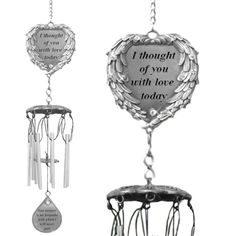 I Thought of You with Love - Memorial Windchimes