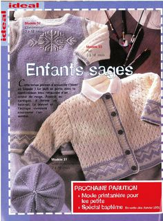 Knitting Patterns Boys, Knitting For Kids, Baby Wearing, Crochet Clothes, Crochet Baby, Free Pattern, Archive, Album, How To Wear