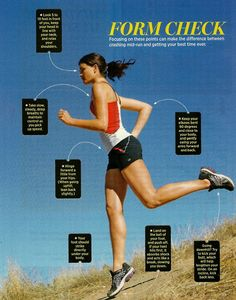 Running Form (My coach yelled ay me all 4 years of hs for my heels... :/)