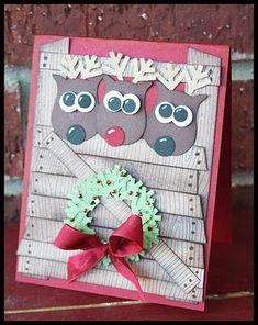 owl punch xmas card